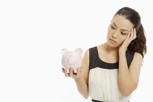 Ausgaben verringern